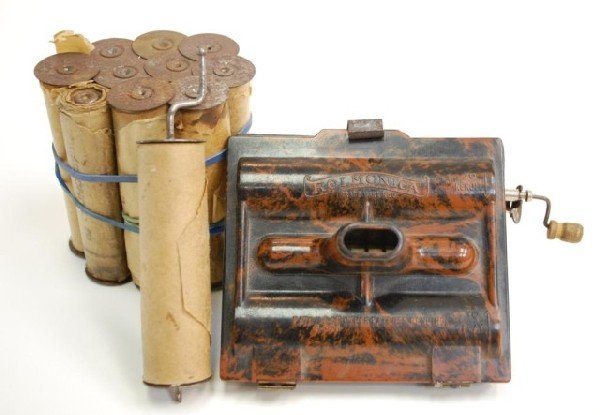 6: 1929 Rolmonica Player Harmonica-Bakelite