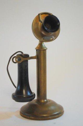 13: Western Electric Co. Candlestick Telephone c. 1905