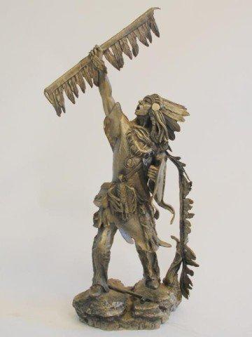 15: Blackfoot Chief Pewter by Jim Ponter-Ltd Ed
