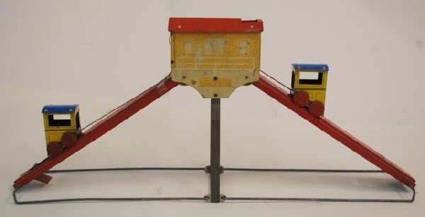 18: 1929 Sunny Andy Cable Car Tin Litho Toy