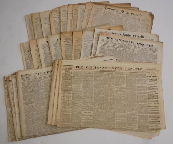 20: 27 19th Century Cincinnati  Newspapers