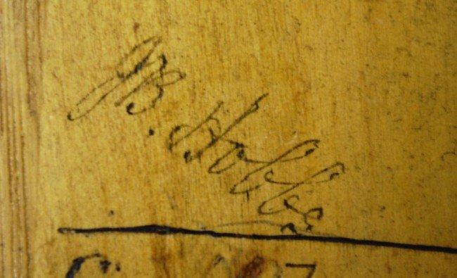 10: Donald Bradman/ J.R. Hobbs Autographed Cricket Bat - 6
