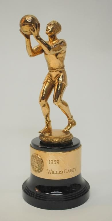 10: 1959 ACC Tournament Mgr. Trophy-Willis R. Casey