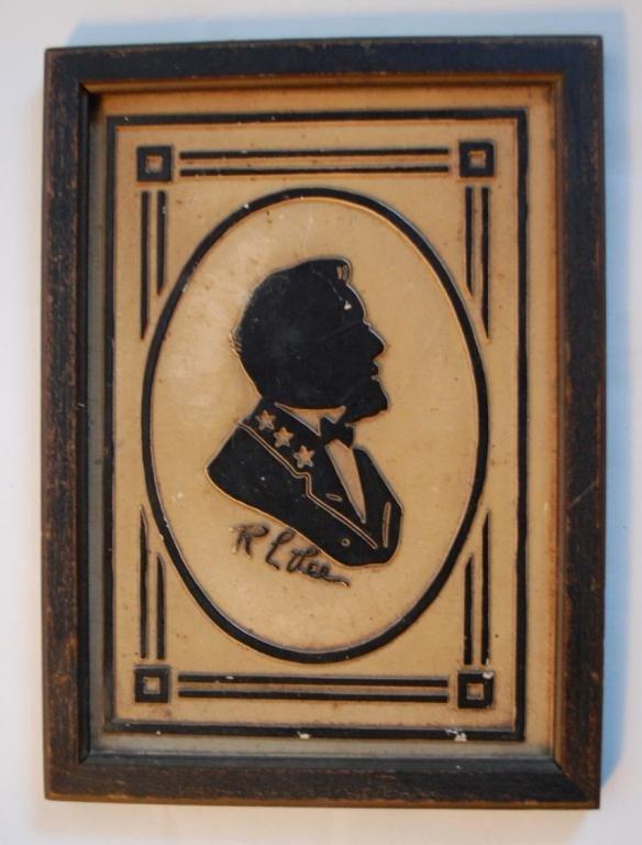 20: General  Robert E. Lee Framed Cameo