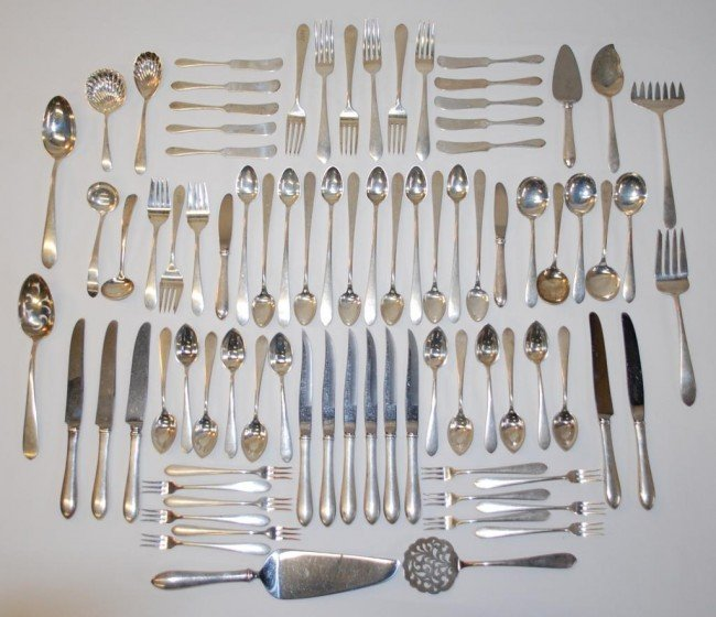 130: Kirk & Sons Sterling Silver Flatware