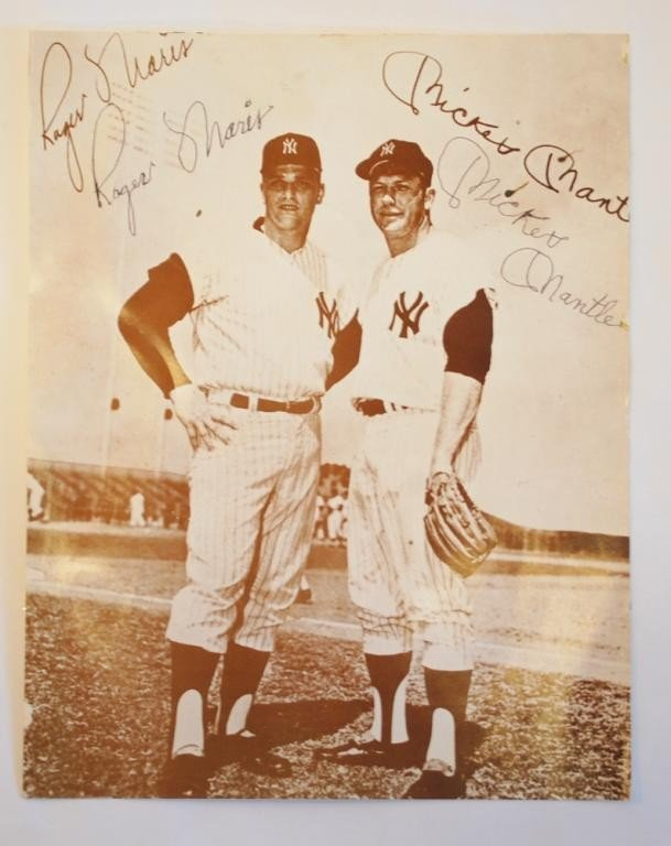3: Mickey Mantle and Roger Marris Autograph