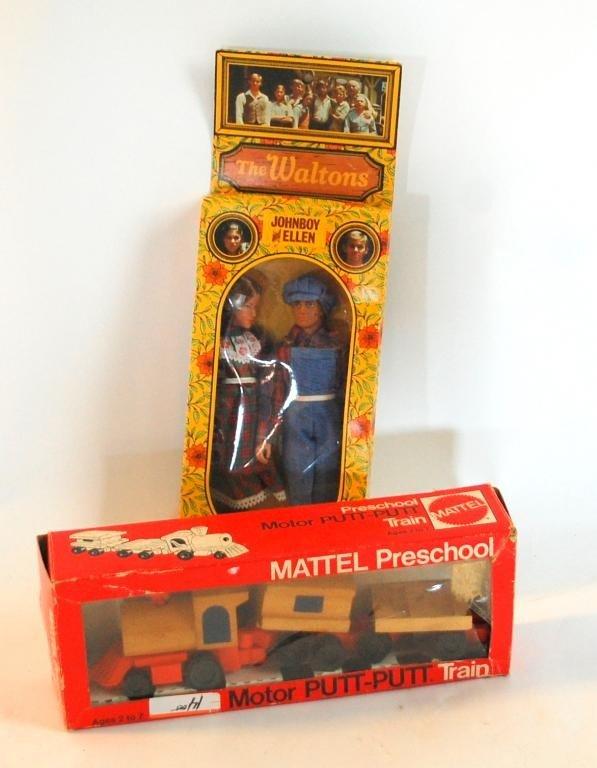 119: Vintage Toys-Mattel Putt-Putt and Waltons Dolls