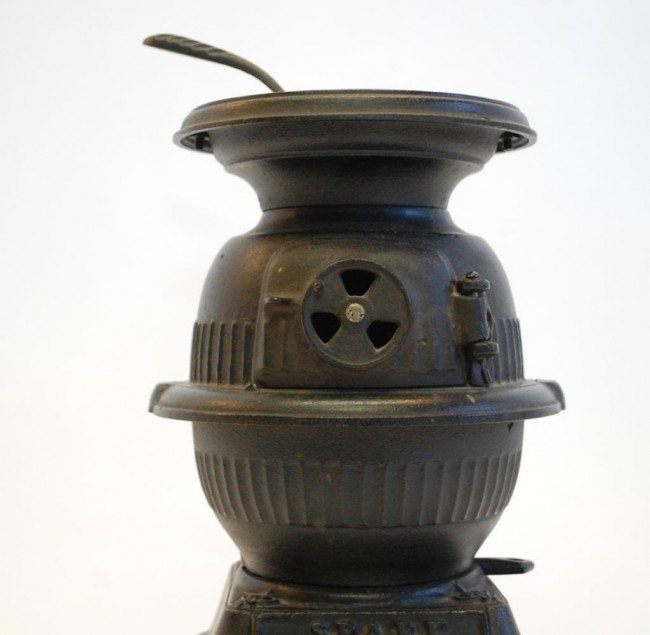"""126: """"Spark"""" Cast Iron Miniature Stove and Accessories - 3"""