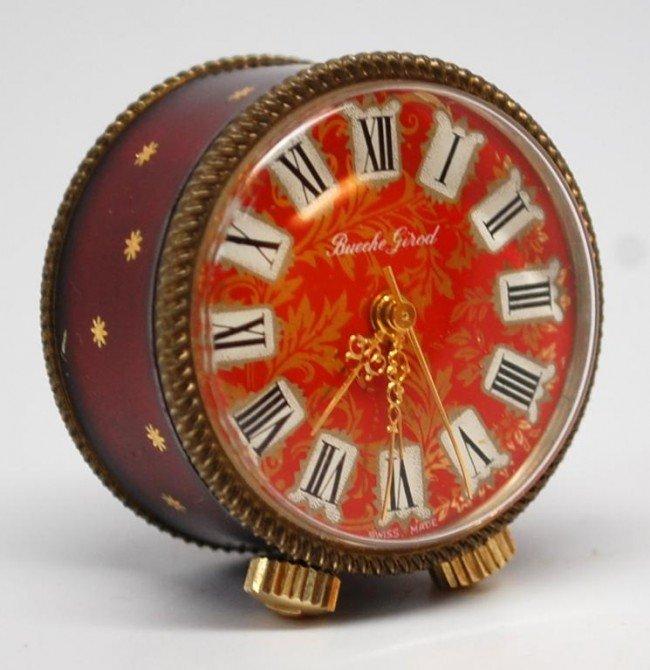 185: Bueche Girod Swiss Miniature Musical Clock
