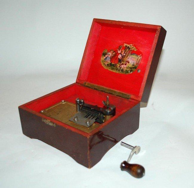 197: Swiss Thorens Music Box Circa 1940