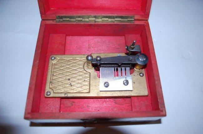 197: Swiss Thorens Music Box Circa 1940 - 2