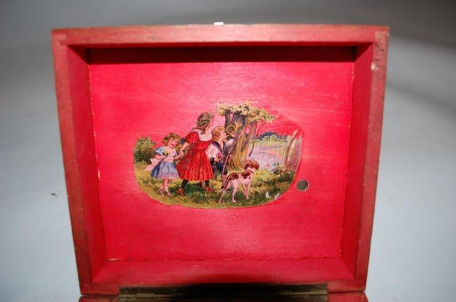 197: Swiss Thorens Music Box Circa 1940 - 3