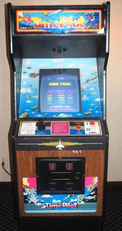 4: Time Pilot Arcade Video Game by Centuri