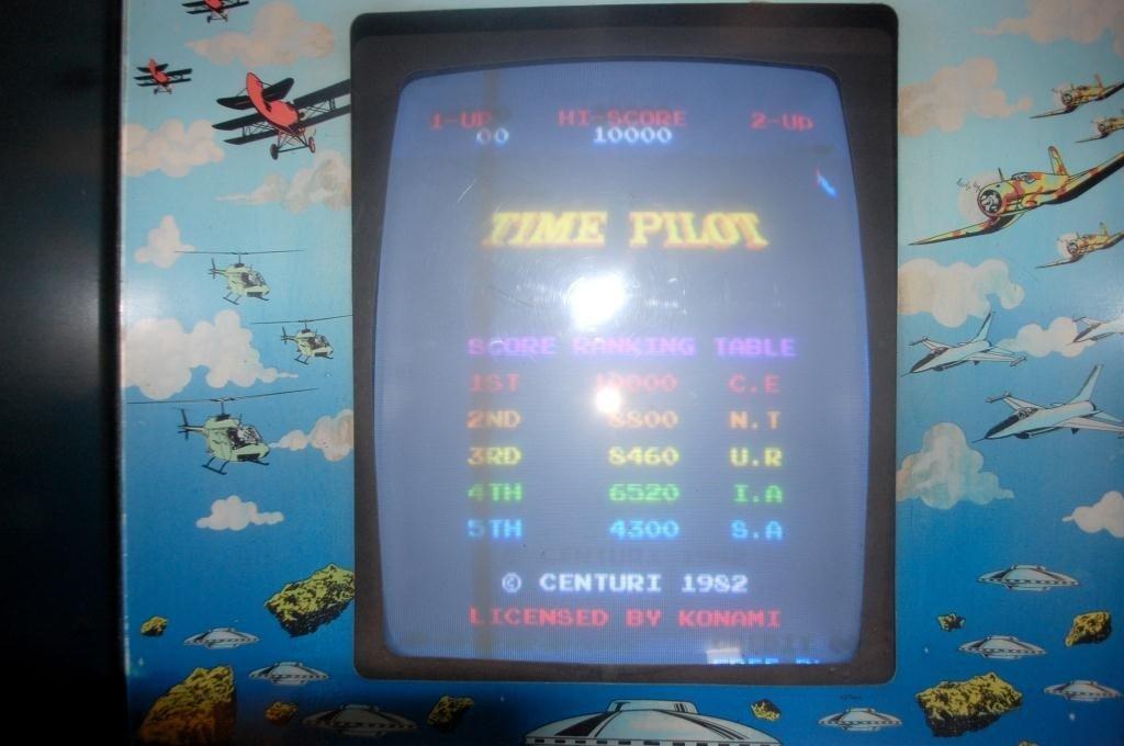 4: Time Pilot Arcade Video Game by Centuri - 2