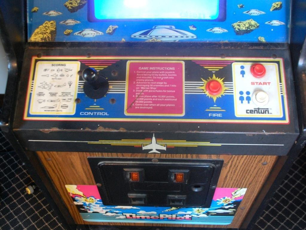 4: Time Pilot Arcade Video Game by Centuri - 5