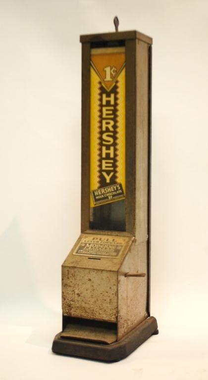3: Antique Hershey's Moderne 1 cent Vending Machine
