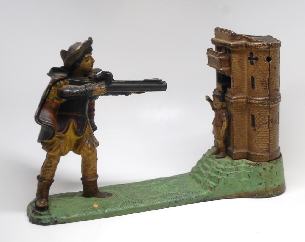 7: William Tell Cast Iron Mechanical Bank