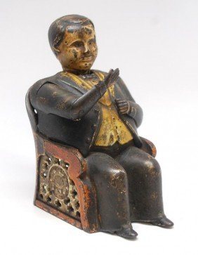 13: Tammany Cast Iron Mechanical Bank