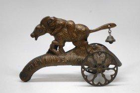 "19: ""Wild Mule Jack"" Bell Bell Toy"