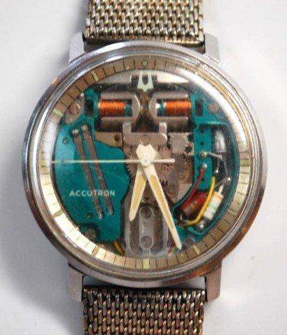 215: 1960s Bulova Accutron Spaceview Watch