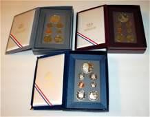 386: 3 US Mint Prestige Coin Sets