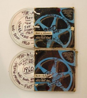"""59: Rare Monroe and Gable """"The Misfits"""" 8MM Film"""