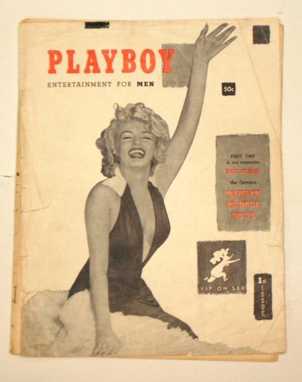 1: Marilyn Monroe First Playboy Magazine Issue