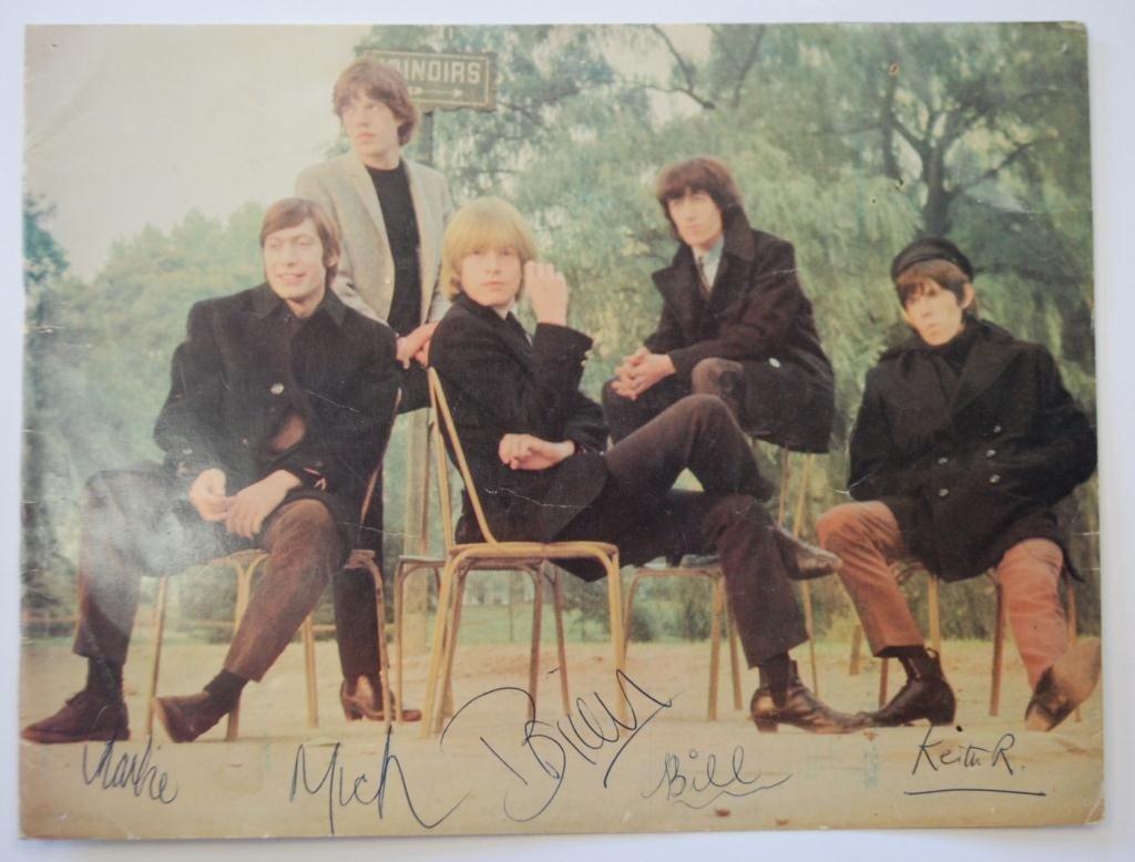 2: 1960s Rolling Stones Autographs