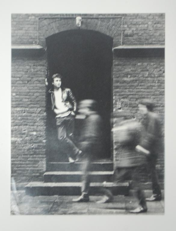 "8: John Lennon Photograph used for ""Rock n Roll"""