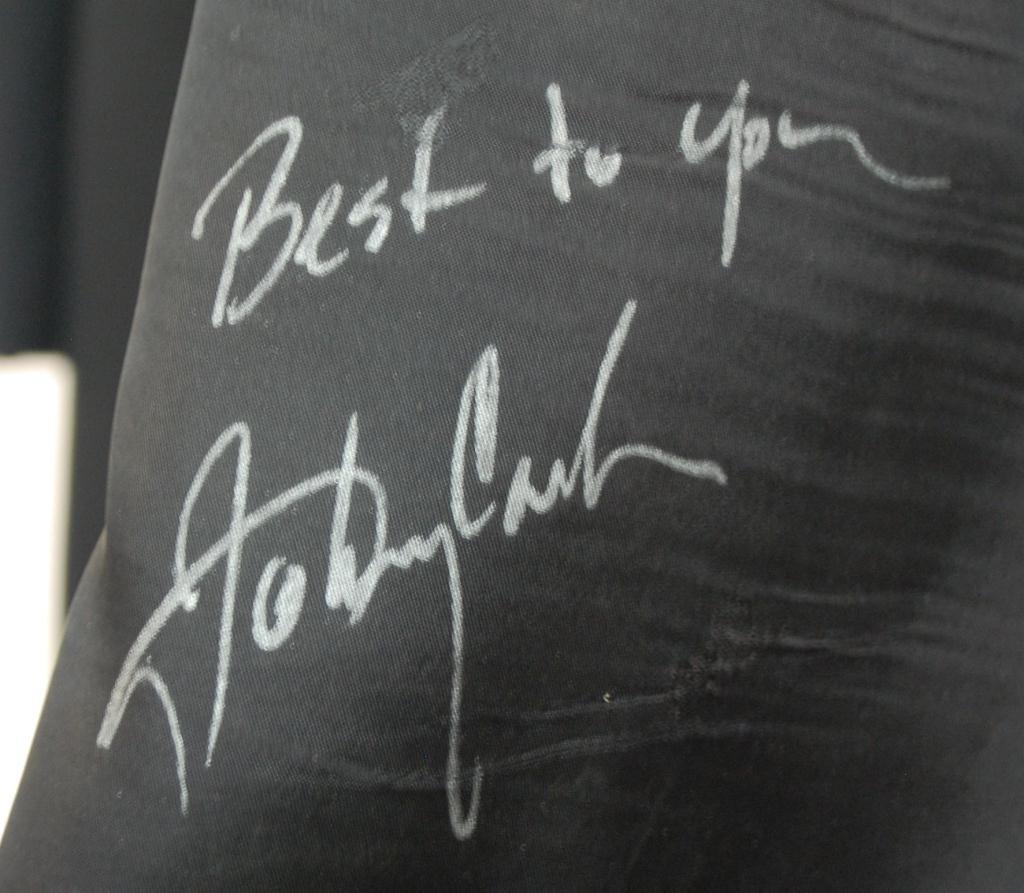 9: Johnny Cash Personal Coat- Autographed - 3