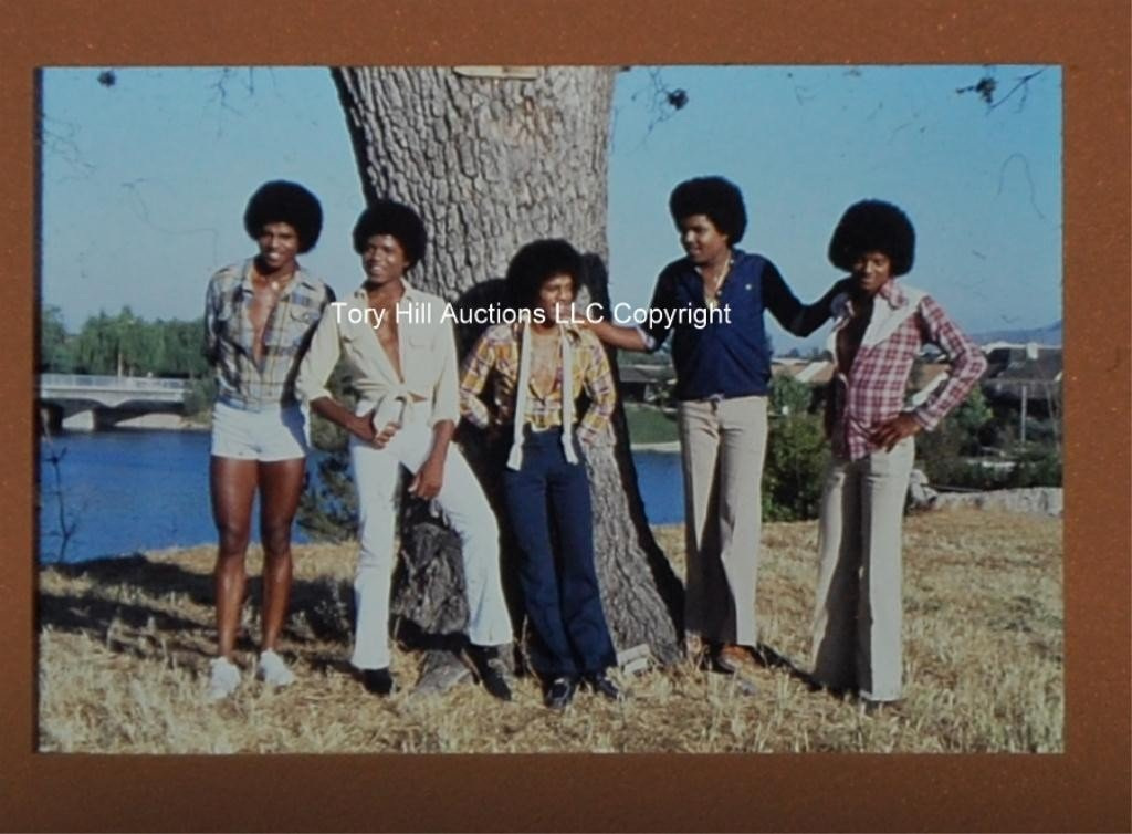 8H: Rare - 66 Michael Jackson & Family  Slides