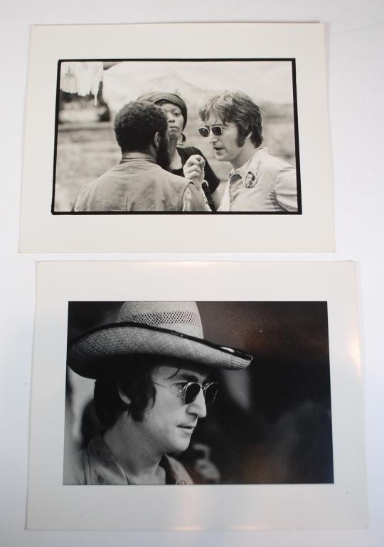 8A: 2 John Lennon Photos by Nakamura