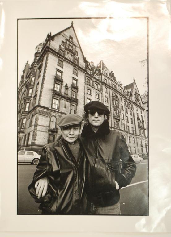 8F: John Lennon & Oko Ono Dakota Photograph