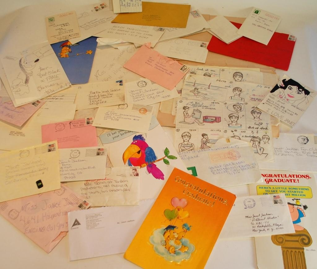 8I: Michael & Janet Jackson Fan Letters Early 1980's