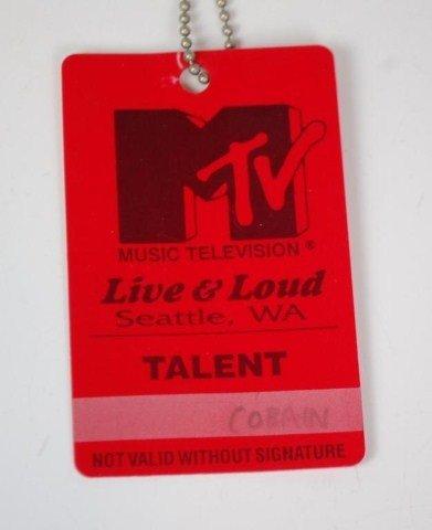 10A: Kurt Cobain's  MTV Talent Pass 1993