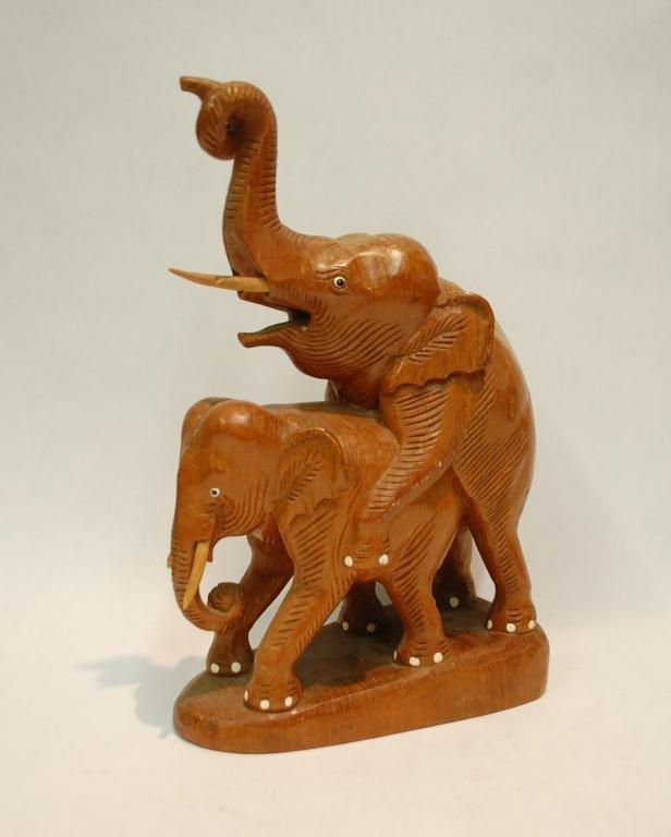 6: John Lennon Gifted Elephant Sculpture