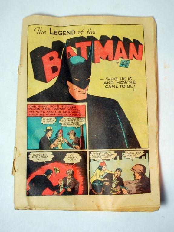 8: Batman #1 Comic Book