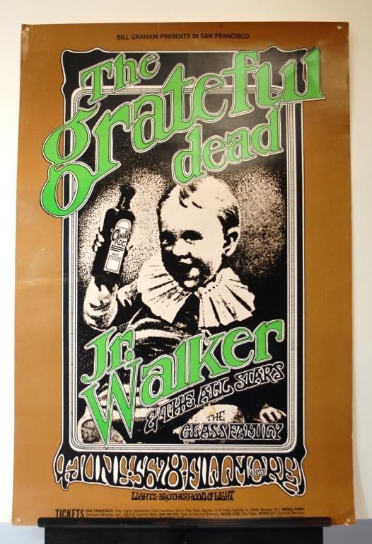9: The Grateful Dead Concert  Poster