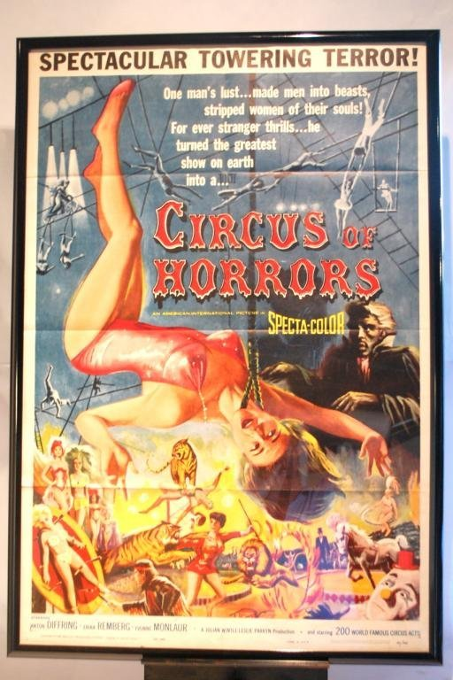 11: Circus of Horrors One Sheet Movie Poster