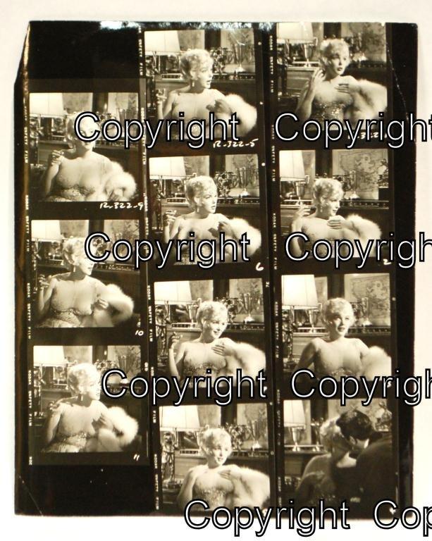 14: Marilyn Monroe Contact Sheet Some Like It Hot
