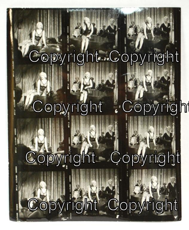 16: Marilyn Monroe Some Like It Hot Contact Sheet