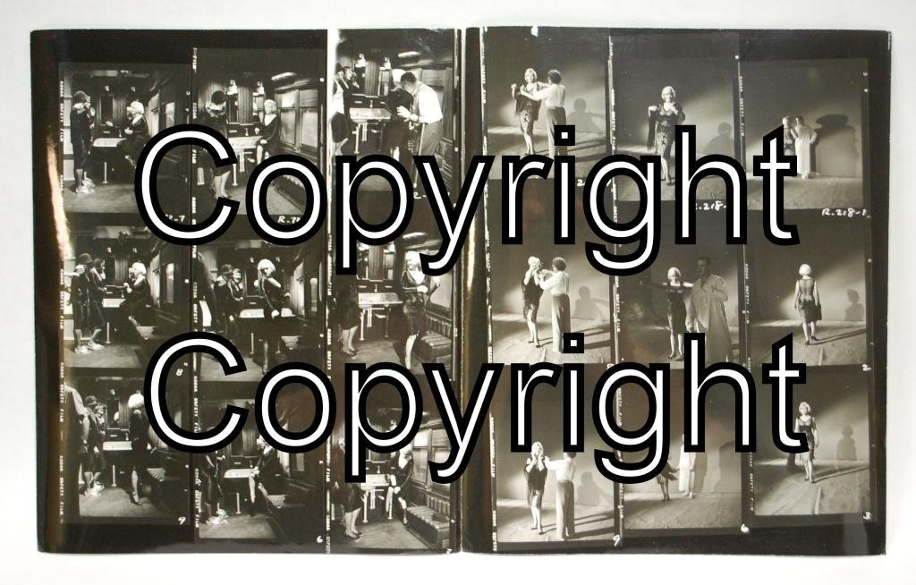 25: 2 Marilyn Monroe Some Like It Hot Contact Sheets