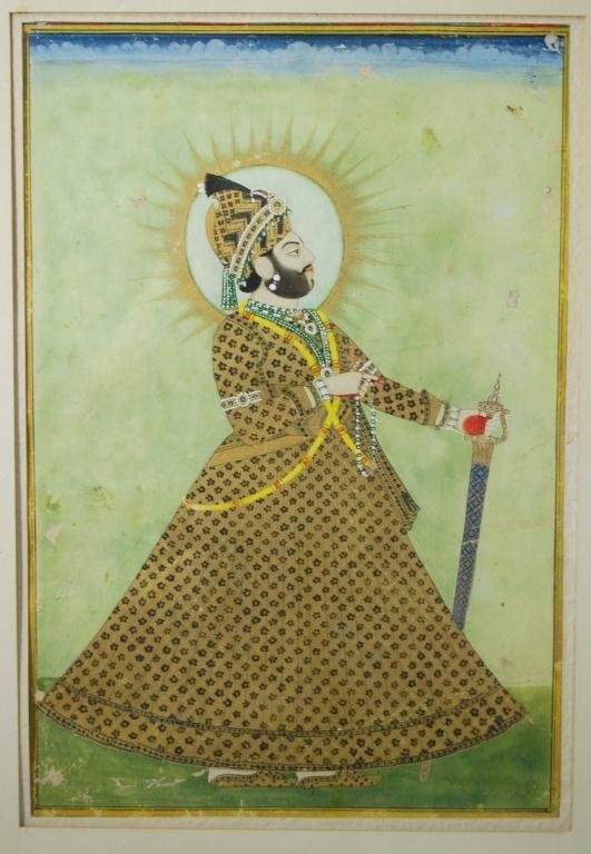 109: Indian Miniature Painting