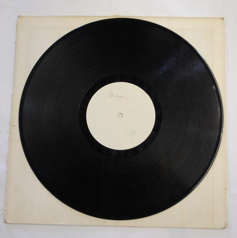 "5A: John Lennon ""Imagine"" Test Pressing Record"