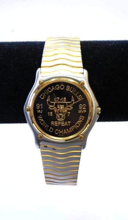 4: Rare Michael Jordan gifted Championship Watch