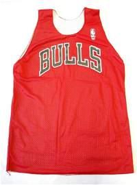 6: Michael Jordan Worn Chicago Bulls Practice Jersey