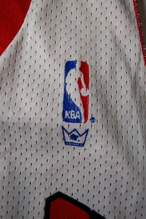 6: Michael Jordan Worn Chicago Bulls Practice Jersey - 4