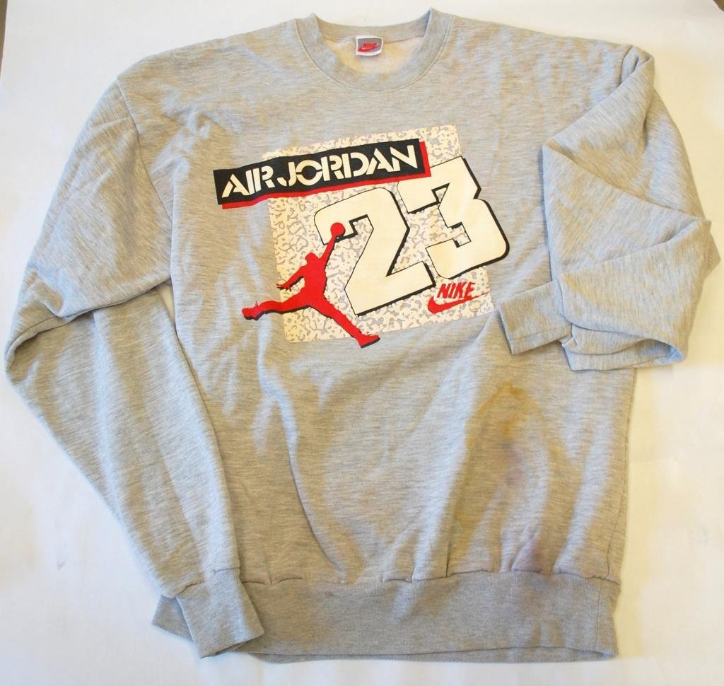 8: Michael Jordan Worn Sweatshirt