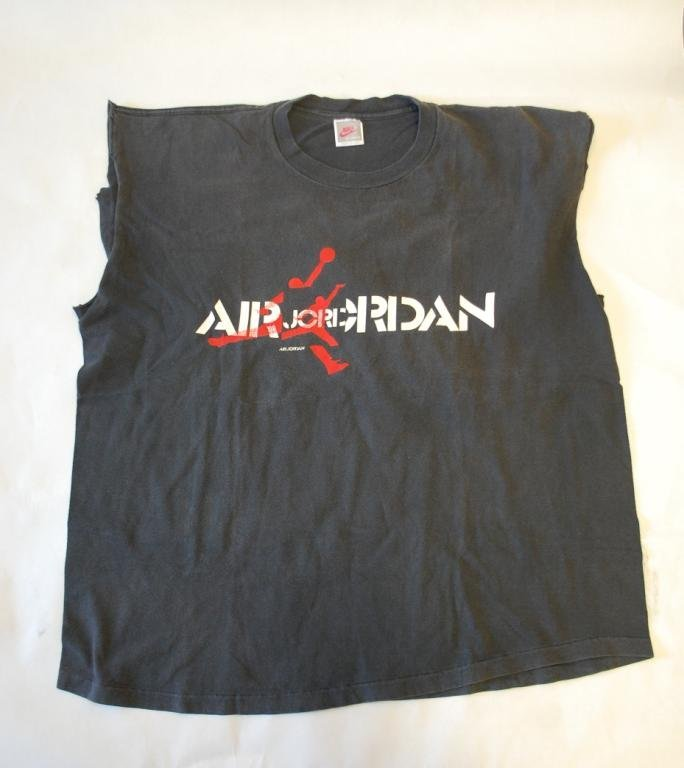 9: Michael Jordan Worn T-Shirt