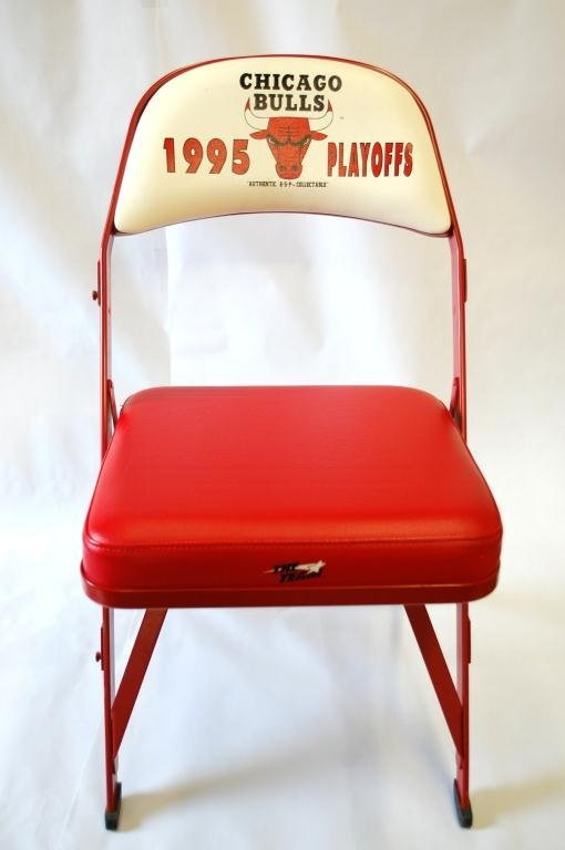 10: Chicago Bulls 1995 Playoffs Chair